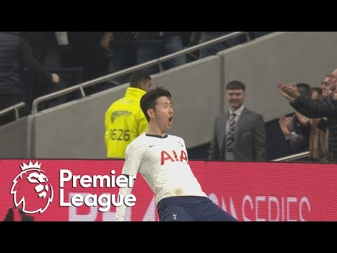 Son Heung min doubles Tottenham's lead against Man City | Premier League | NBC Sports