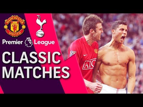 Man United v. Tottenham | PREMIER LEAGUE CLASSIC MATCH | 4/25/09 | NBC Sports