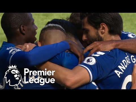 James Rodriguez puts Everton ahead with first Toffees goal | Premier League | NBC Sports