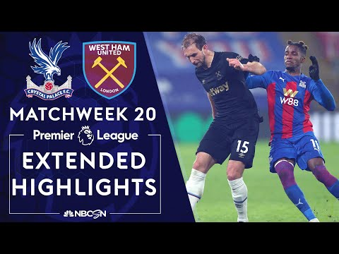 Crystal Palace v. West Ham | PREMIER LEAGUE HIGHLIGHTS | 1/26/2021 | NBC Sports