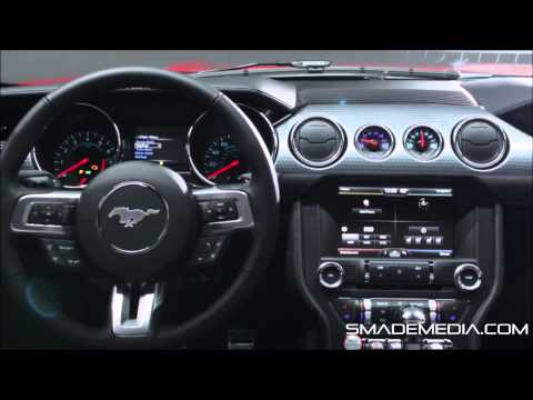 2015 FORD MUSTANG – First Look – SMADEMEDIA.COM