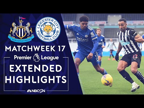 Newcastle v. Leicester City | PREMIER LEAGUE HIGHLIGHTS | 1/3/2021 | NBC Sports