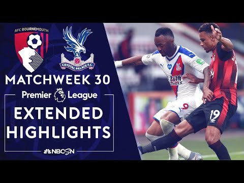 Bournemouth v. Crystal Palace | PREMIER LEAGUE HIGHLIGHTS | 6/20/2020 | NBC Sports