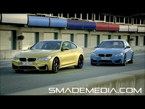 2015 BMW M3 Sedan and M4 Coupe – Official Launch Film –  SMADEMEDIA COM Galleria