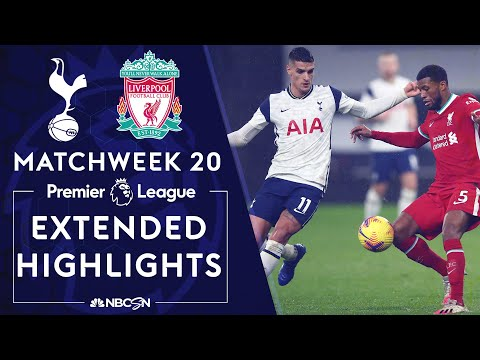 Tottenham v. Liverpool | PREMIER LEAGUE HIGHLIGHTS | 1/28/2021 | NBC Sports