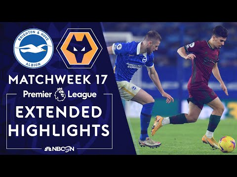 Brighton v. Wolves | PREMIER LEAGUE HIGHLIGHTS | 1/2/2021 | NBC Sports