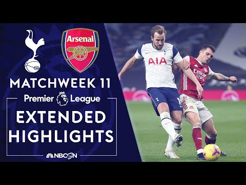 Tottenham v. Arsenal | PREMIER LEAGUE HIGHLIGHTS | 12/6/2020 | NBC Sports