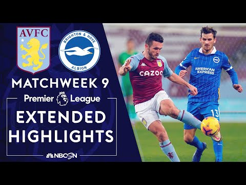 Aston Villa v. Brighton | PREMIER LEAGUE HIGHLIGHTS | 11/21/2020 | NBC Sports