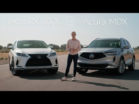 2021 Lexus RX 350L vs 2022 Acura MDX Review & Comparison