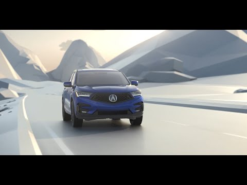 Acura RDX with available Super Handling All-Wheel Drive (SH-AWD)
