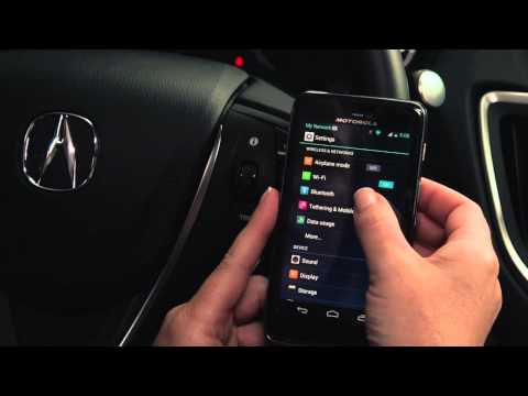 Pairing a Phone – TLX