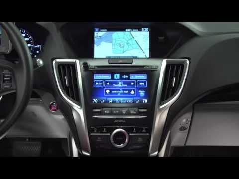 Acura — 2015 TLX — Center Stack Overview