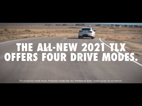 2021 Acura TLX Drive Modes
