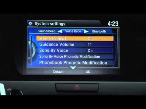 Turning Off Voice Prompts – TLX