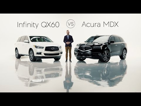 2019 Infiniti QX60 Road Test & Review vs. the 2019 Acura MDX