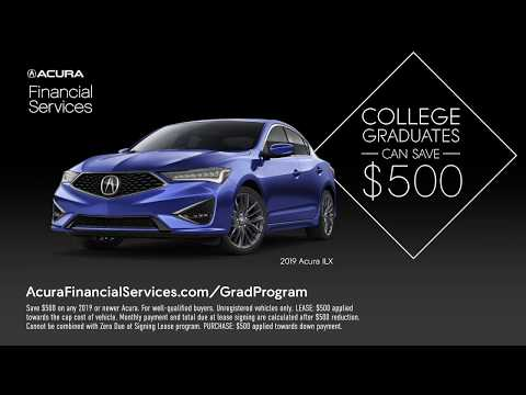 Acura Financial Services College Grad Program 2019 – Running Late