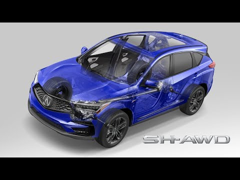 What is Acura Super Handling All-Wheel Drive?