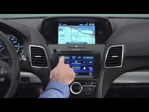 Acura – 2016 RDX – Center Stack Overview