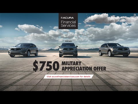 Acura Military Appreciation Offer – About Face