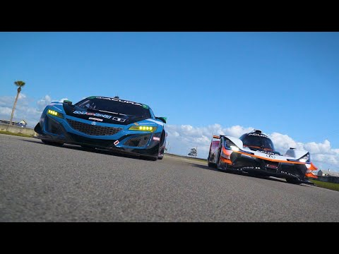 Trading Places: Acura Star Drivers Swap Race Cars on First-Ever Drives