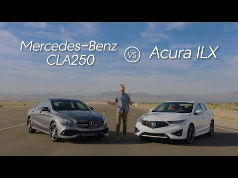 Acura ILX vs. Mercedes-Benz CLA – Video Review Comparison