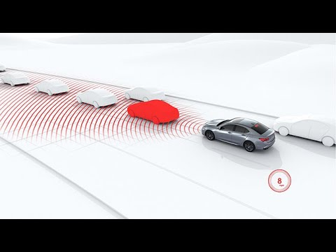 Acura TLX – AcuraWatch Safety & Driver-Assist Technologies