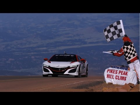 Acura – NSX Sets the Pace at Pikes Peak