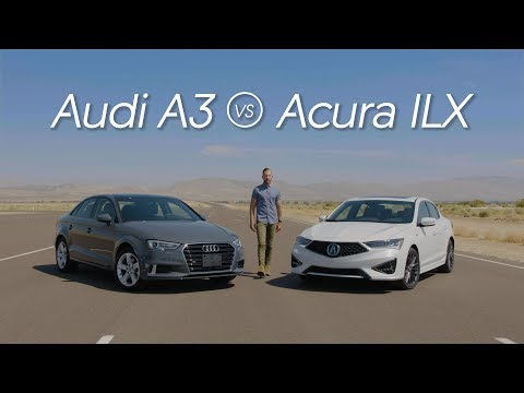 Acura ILX vs. Audi A3 – Video Review Comparison